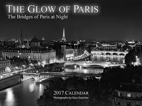 But the beautiful 2017 Glow of Paris Calendar